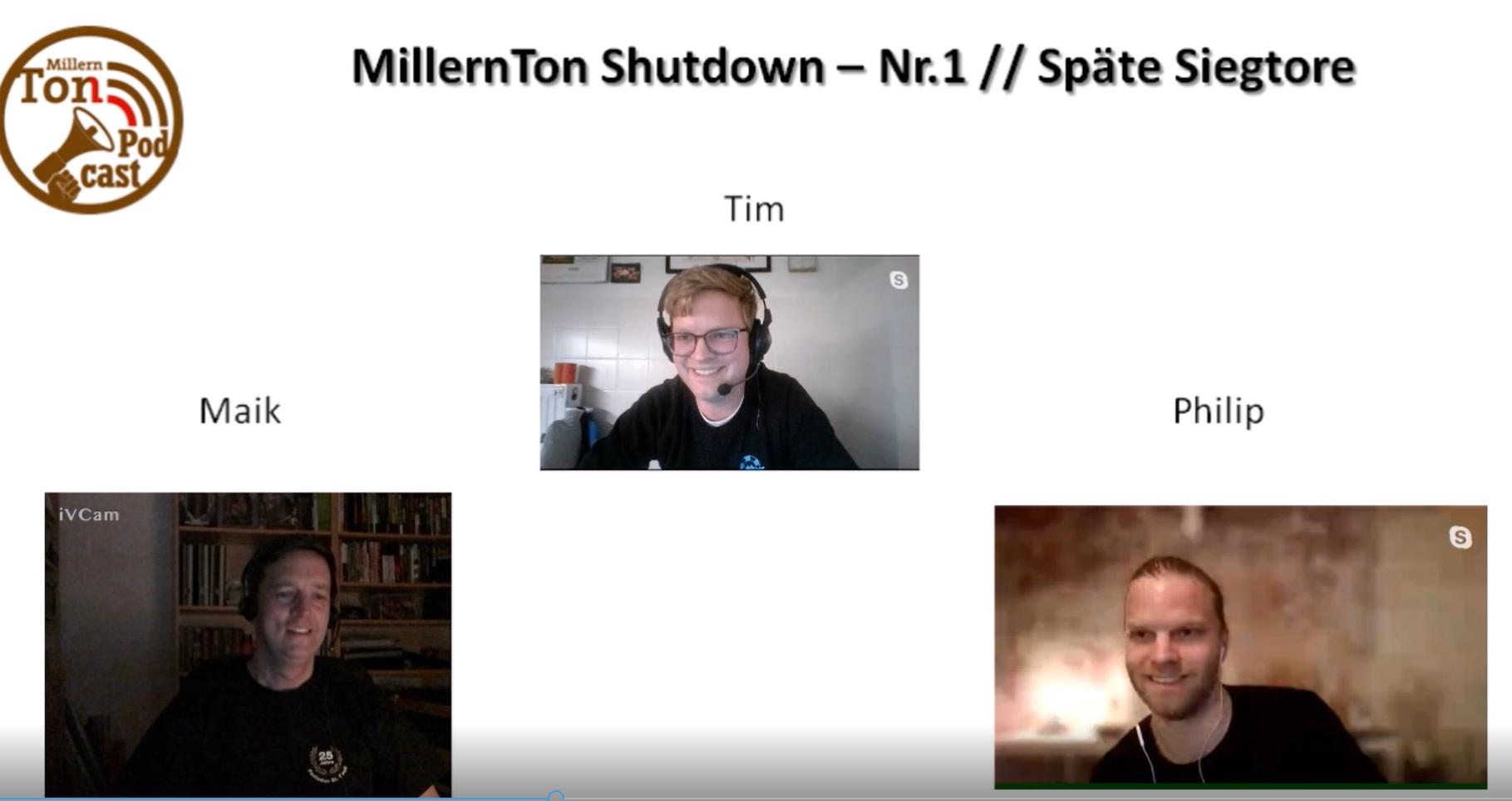 MillernTon goes YouTube – 001, Späte Tore