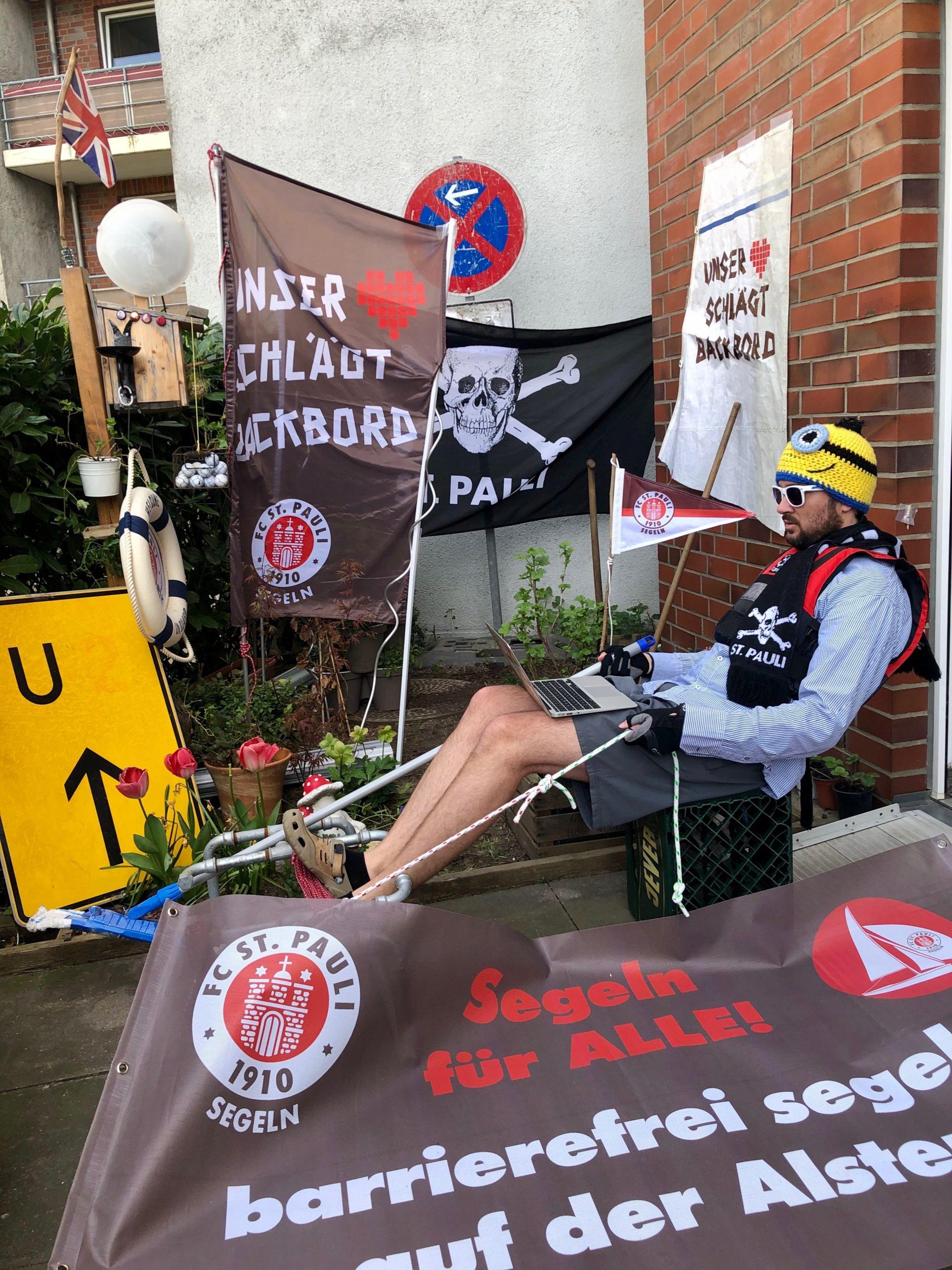 Segeln (und eSailing) beim FC St.Pauli