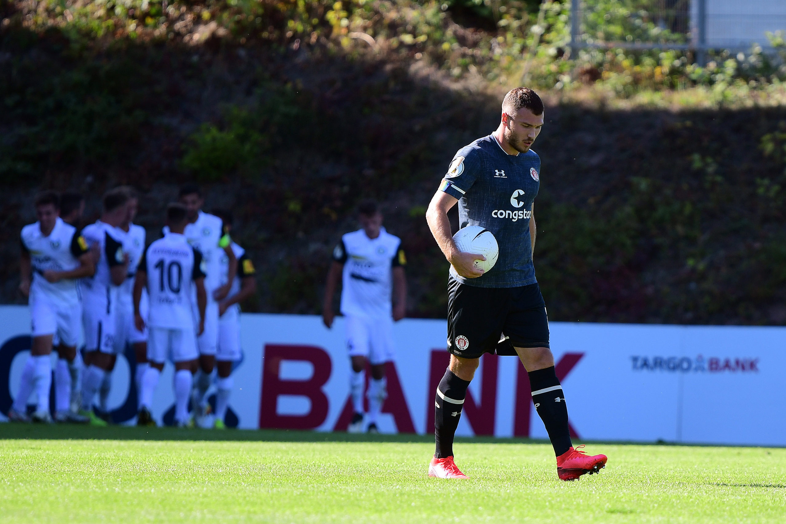 Nach dem Spiel – SV Elversberg (A) – DFB Pokal Runde 1 – Saison 2020/21