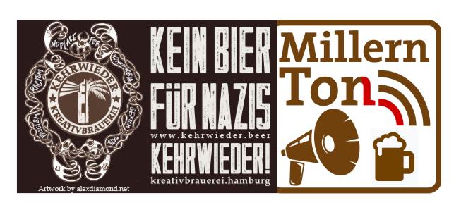 Kehrwieder trifft MillernTon (Die Zwote) – virtuelle Bierverkostung am 1. Mai 2021 um 19:10 Uhr