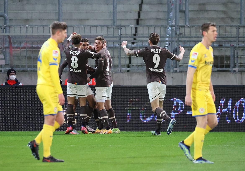 FC St. Pauli – Eintracht Braunschweig 2:0 – Klassenunterschied
