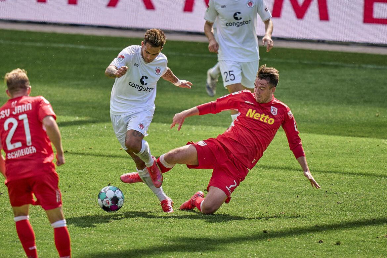SSV Jahn Regensburg – FC St. Pauli 3:0 – Kein perfekter Abschluss