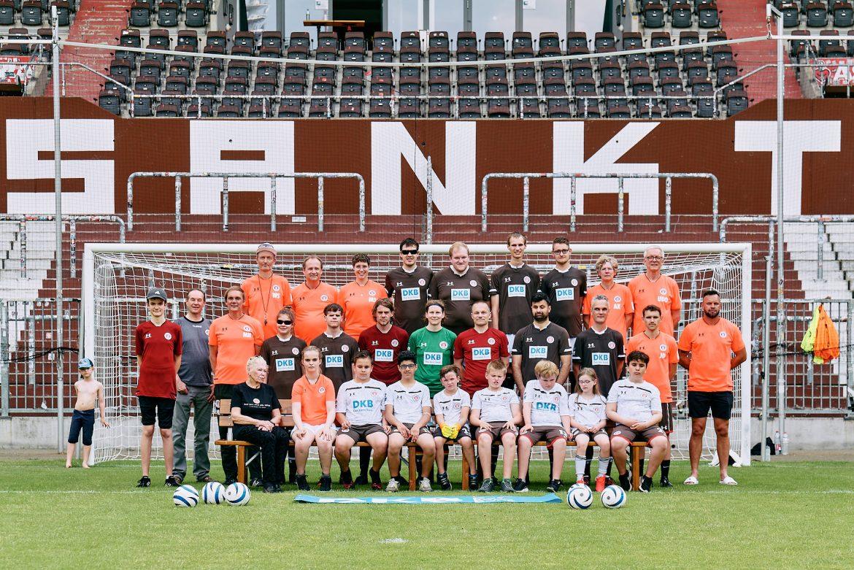 Blindenfußball: Der FC St. Pauli vor der Saison 2021