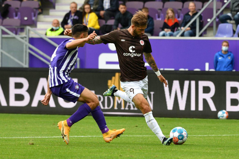 Erzgebirge Aue – FC St. Pauli 0:0 – offensiv isoliert