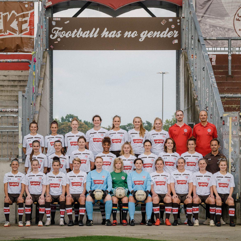 Die 1.Frauen vor dem Saisonstart in die Regionalliga