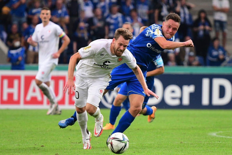 Nach dem Spiel – 1. FC Magdeburg (A) – DFB-Pokal Runde 1 – Saison 2021/22